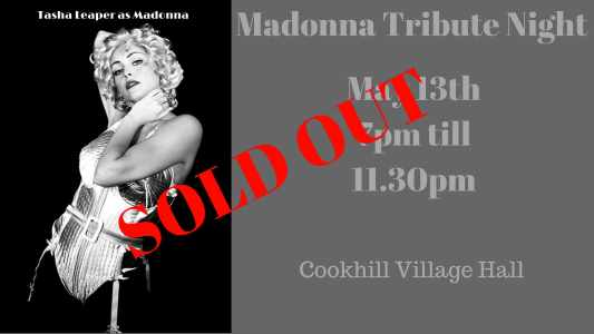 just wright catering madonna tribute night sold out