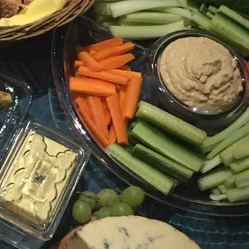 just wright catering platter crudites